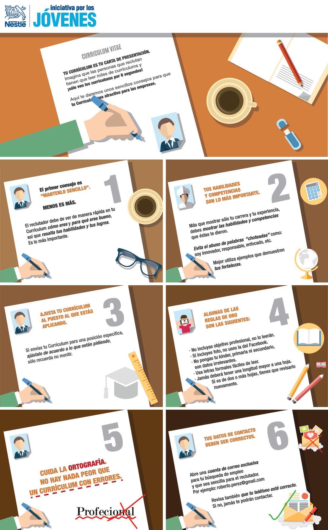Cómo hacer un buen CV – busquedaempleo.blog
